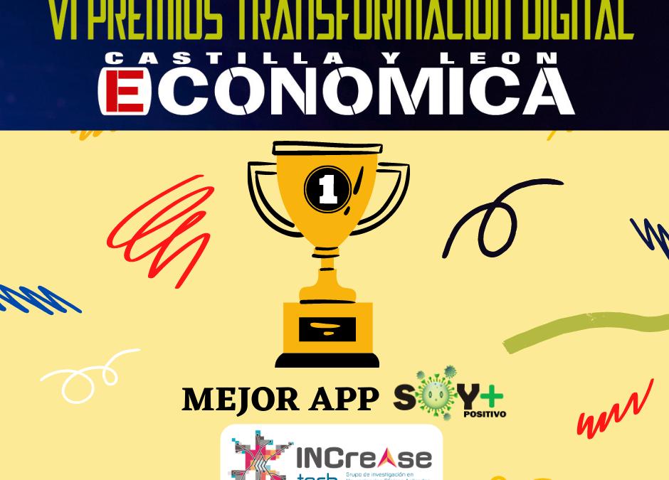 Premio a la mejor APP Castilla y León Económica.