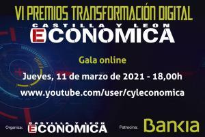 Gala online de los IV Premios Transformación Digital CyL