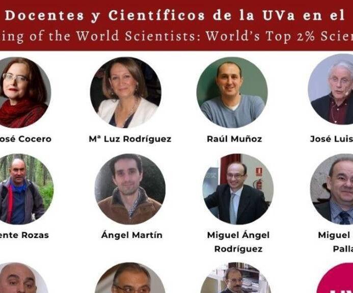 17 Investigadores de la UVa entre el 2% de los mas citados mundialmente.